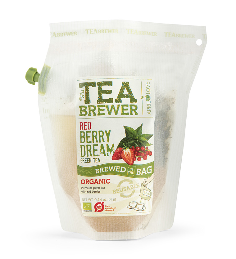 Žalioji arbata Teabrewer - Red Berry Dream