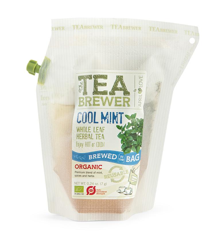 Žolelių arbata Teabrewer - Cool Mint