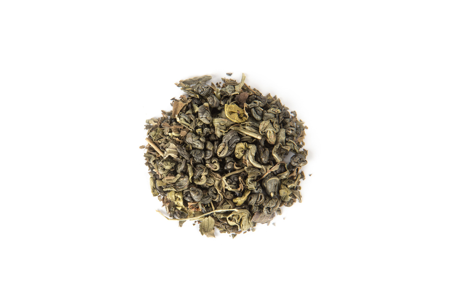 Ekologiška žalioji arbata su pipirmėtėmis