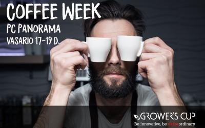 Coffeeweek renginiai kelia kavos kultūrą į kitą lygį!