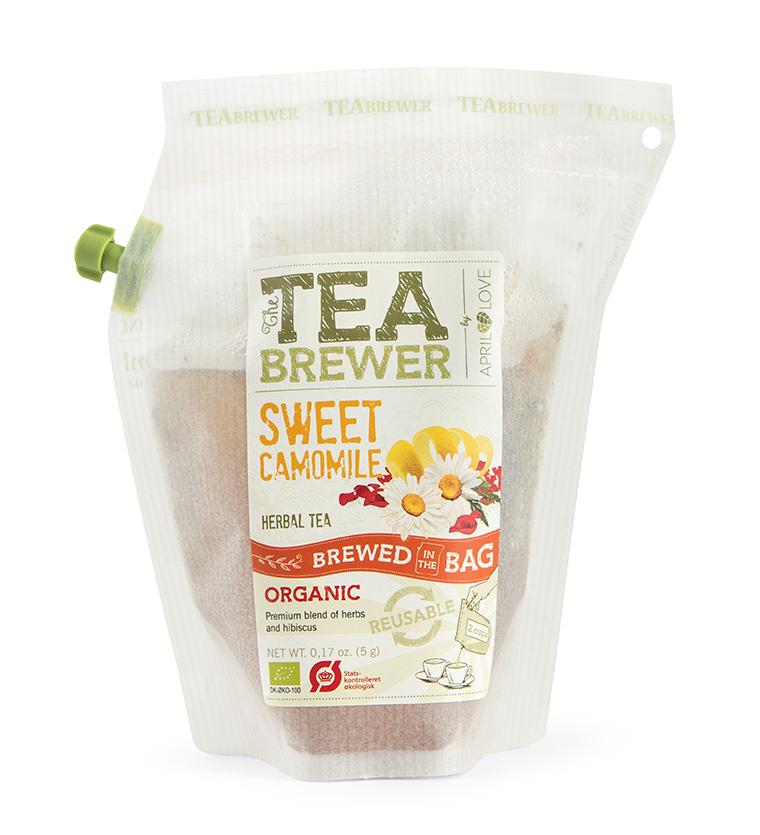 Žolelių arbata Teabrewer - Sweet Camomile